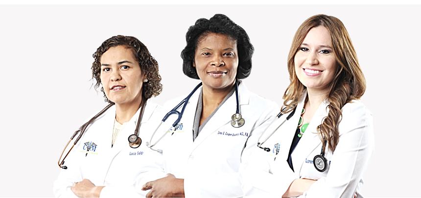 four medical staff